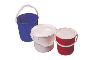 Plastic Bins, Buckets & Accessories
