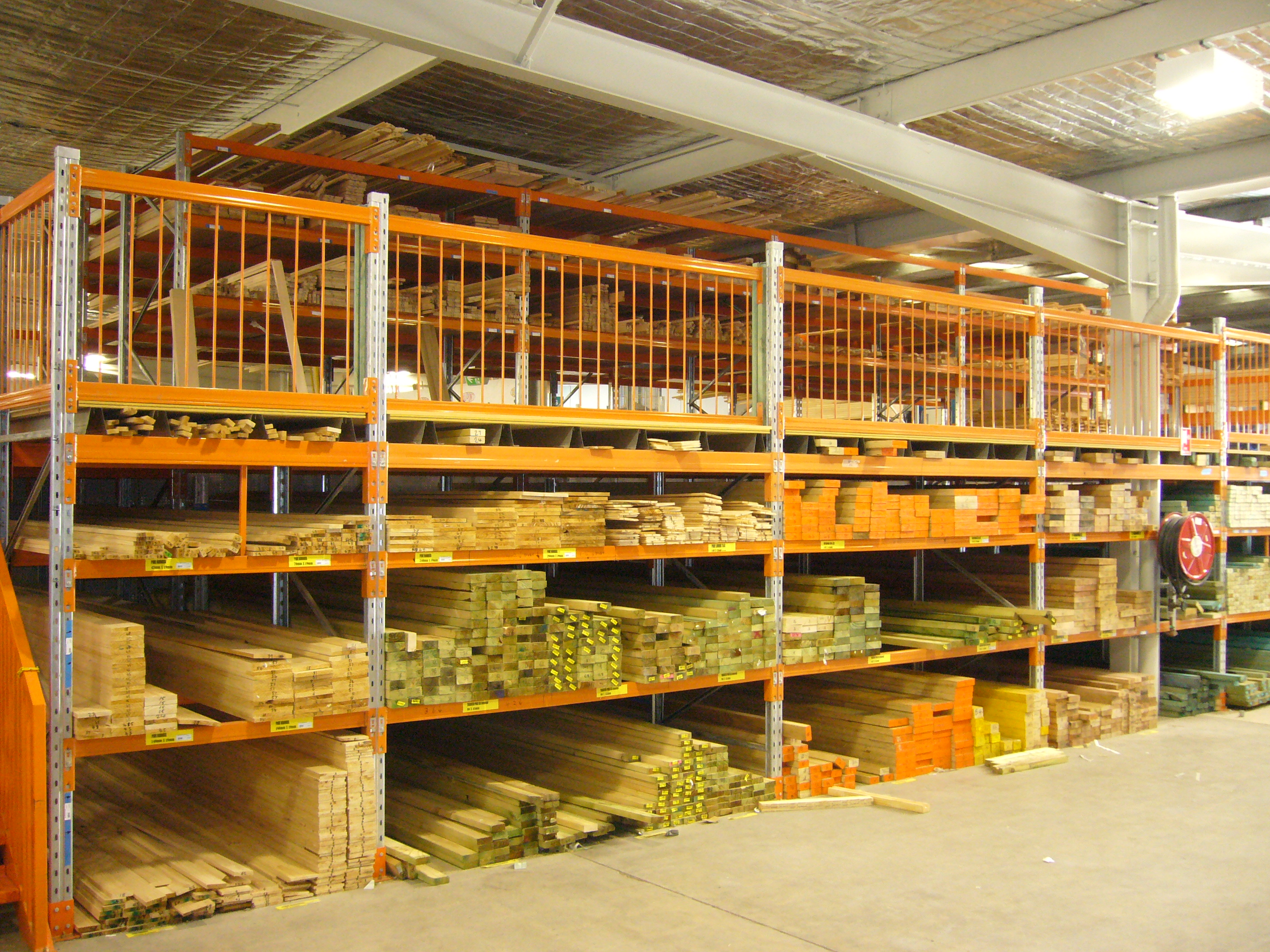 Rack Supported Mezzanine Floors All Storage Systems