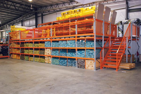 Rack-Supported-Mezzanine-Floors