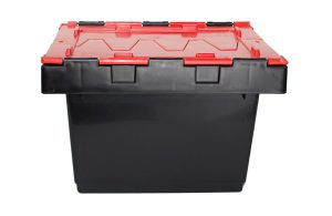 Security Crates with Attached Lids