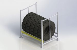 Stackable Truck Tyre Pallet Cages