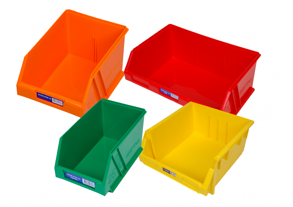 Small Parts Bins & Trays