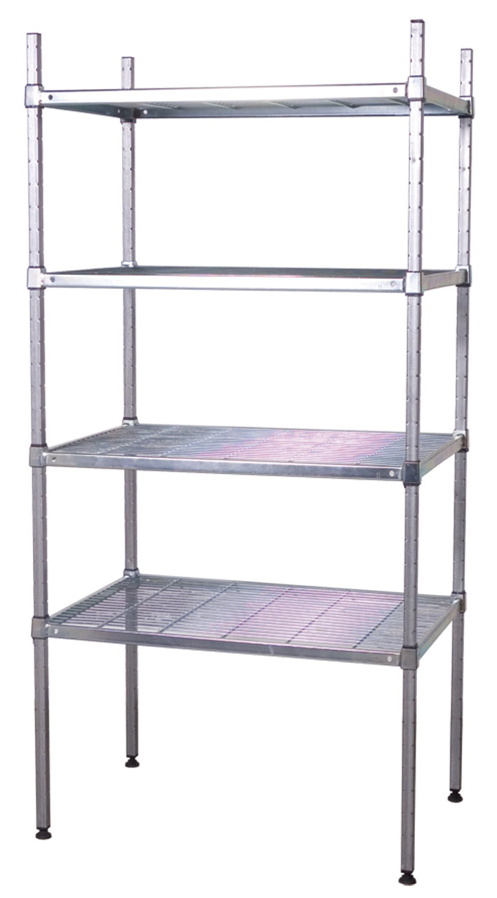Post Wire Grid Shelving All Storage Systems