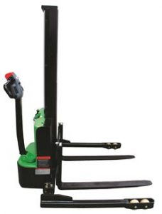250011 Compact Electric Straddle Stacker