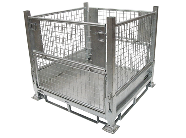 254003 ALSTOR Mesh Galvanised Collapsible Cage