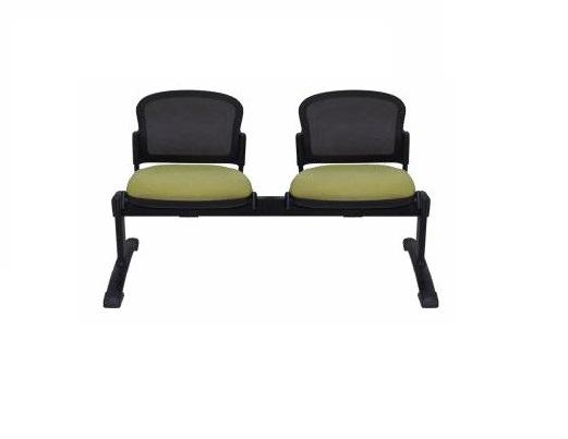 Adapt Beam- Mesh Back, Upholstered Seat