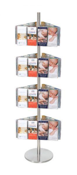 Brochure Display Carousels