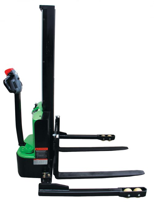Compact Electric Straddle Stacker copy