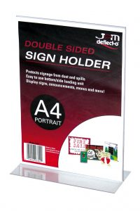 Double-Sided-Sign-Holder