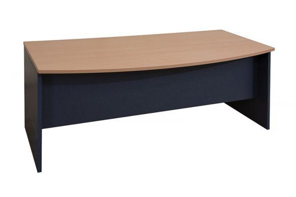 Elite Bow Front Desk