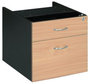 Fixed-Pedestal-1-Drawer-1-File