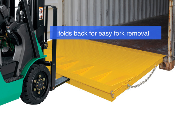 Folding Container Ramp