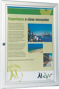 Poster and Signage Display
