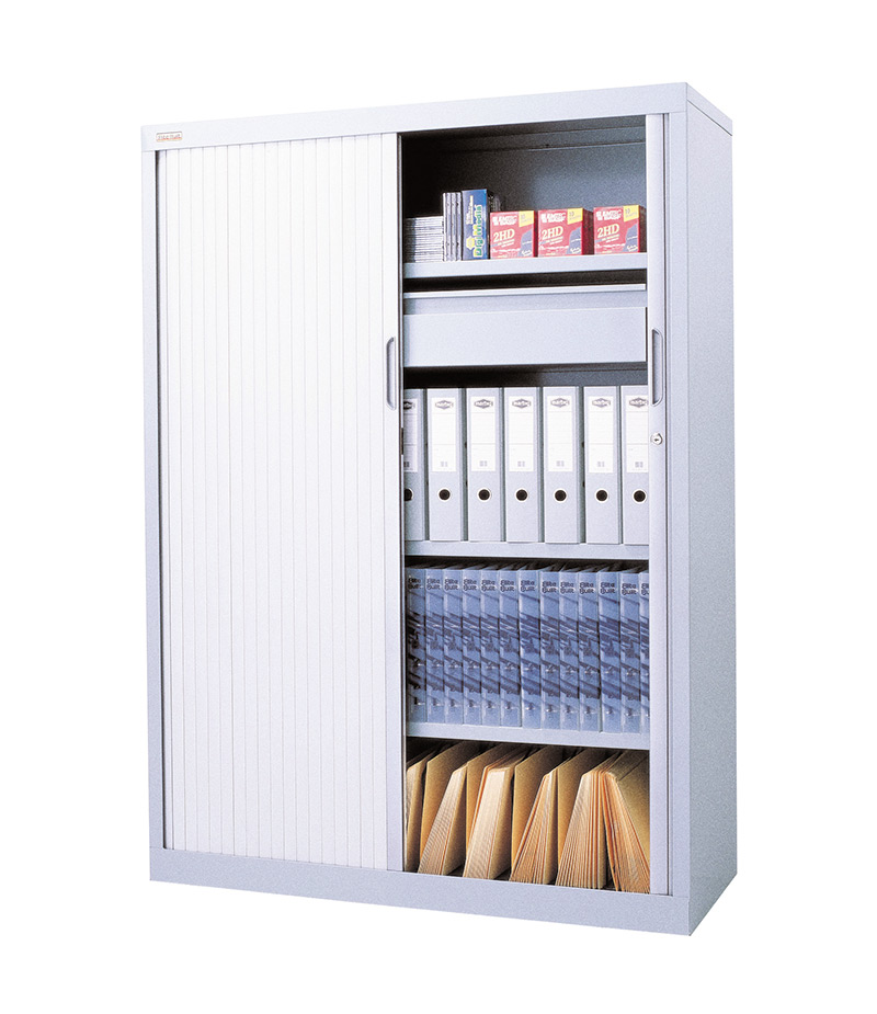 Stronghold Tambour Door Cabinets All Storage Systems
