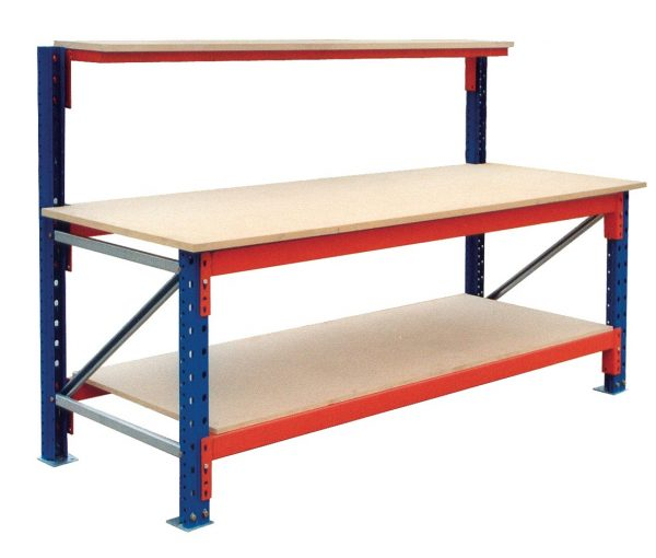 Ultimate Heavy Duty Workbench with High Back