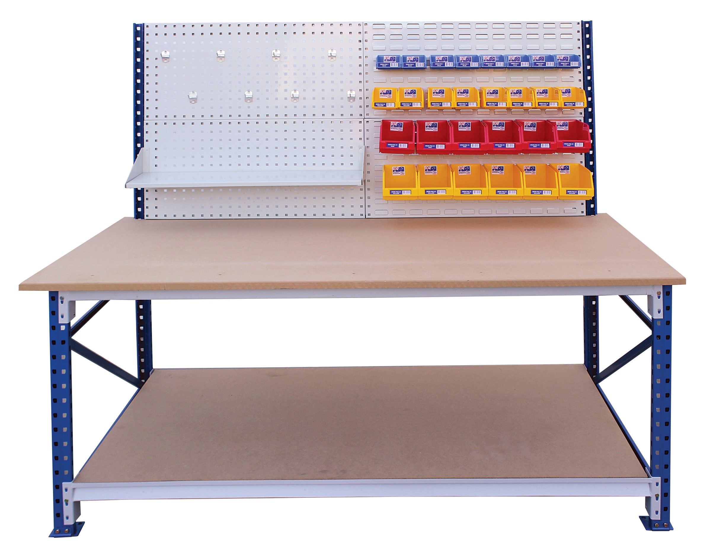 Ultimate Medium Duty Workbench With Backing Board All