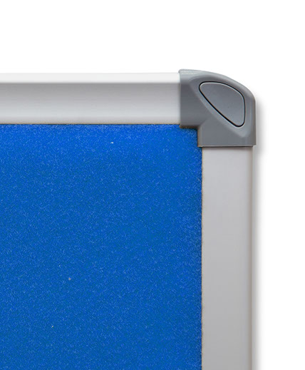 smooth velour pinboard detail