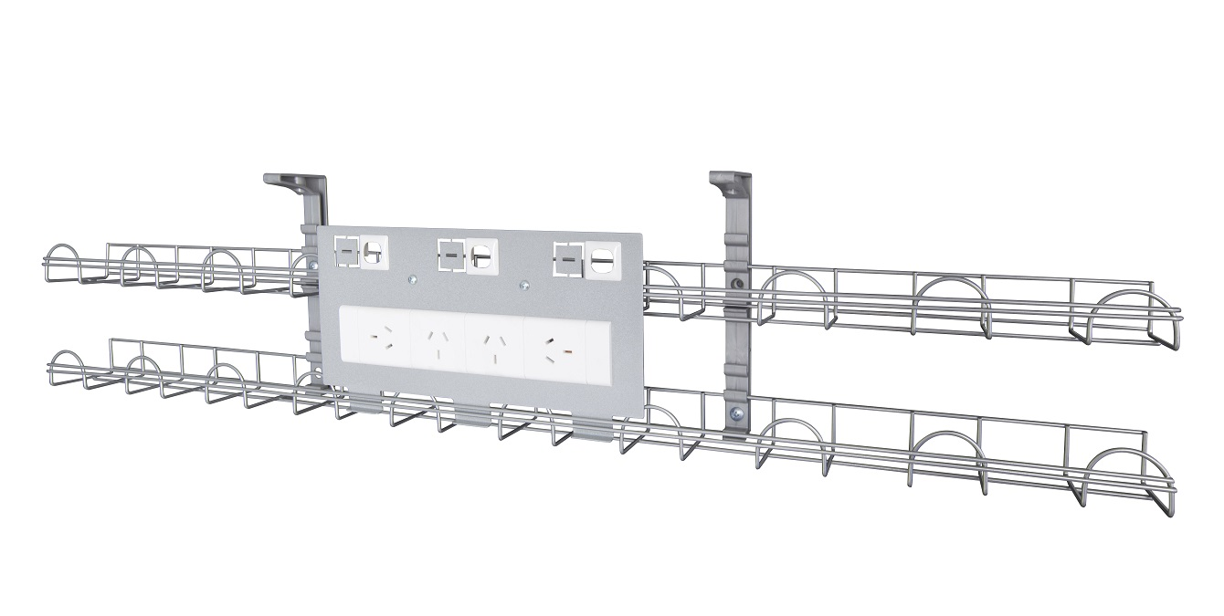 Rapid Screen Cable Basket 4 Power 3 Data