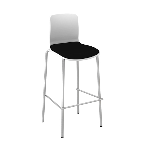 Acti-Bar stool chrome legbase