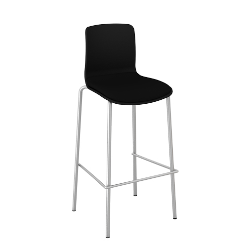 Acti-Bar_stool_chrome_legbase_23-Black