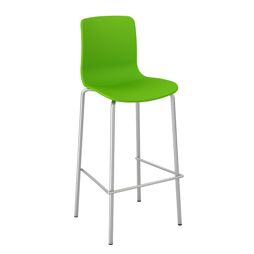 Acti-Bar_stool_chrome_legbase_LimeGreen21