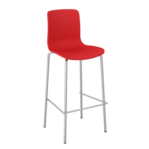 Acti-Bar_stool_chrome_legbase_Red01