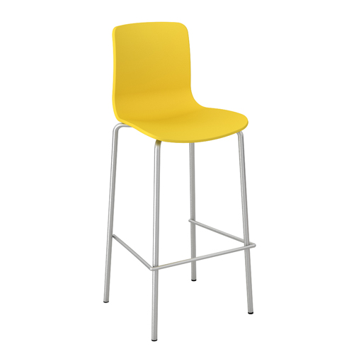 Acti-Bar_stool_chrome_legbase_Yellow19