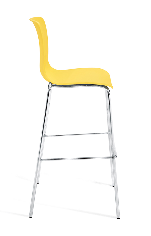 Bar_stool_chrome_legbase_Yellow19-Side
