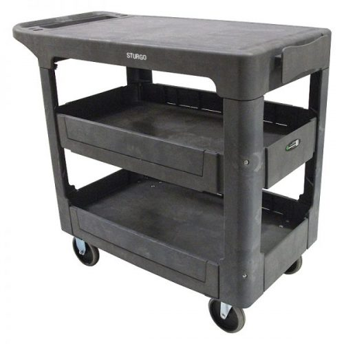 Sturgo Flat Shelf Utility Trolleys (1)