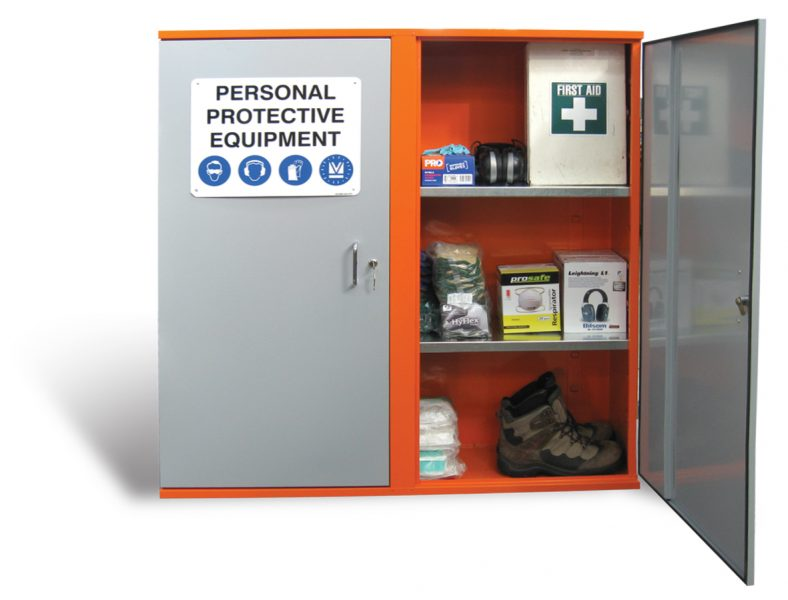 ppe storage cabinets | all storage systems