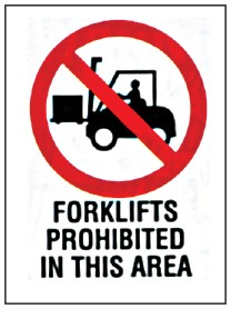 Forklift Safety Signage 2