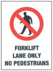 Forklift Safety Signage 4