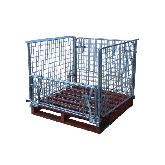 16640003 Werks Steel Cage With Hardwood Pallet