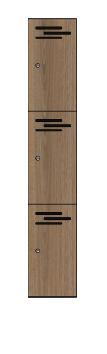 3 doors locker