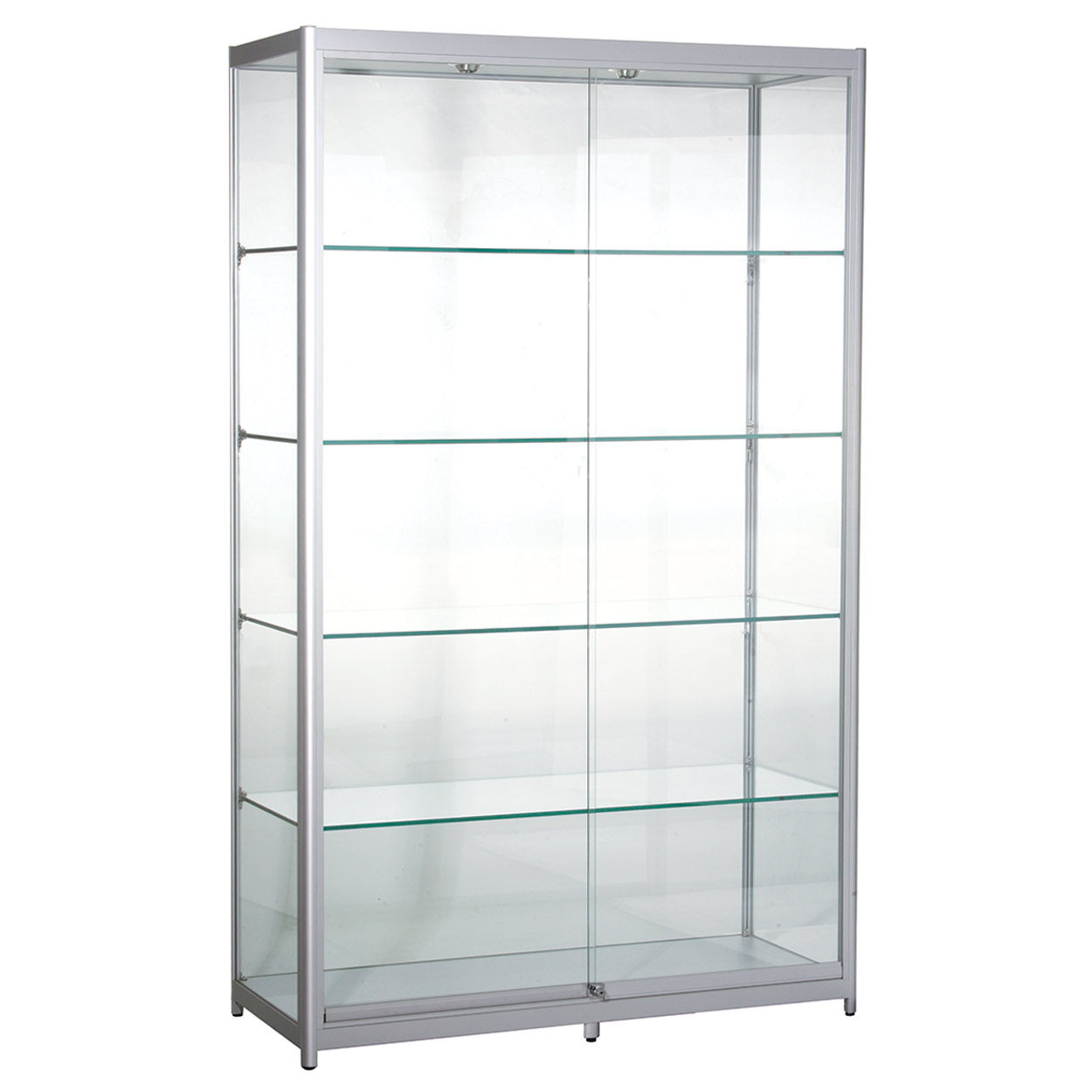 Aluminium Tall Showcase