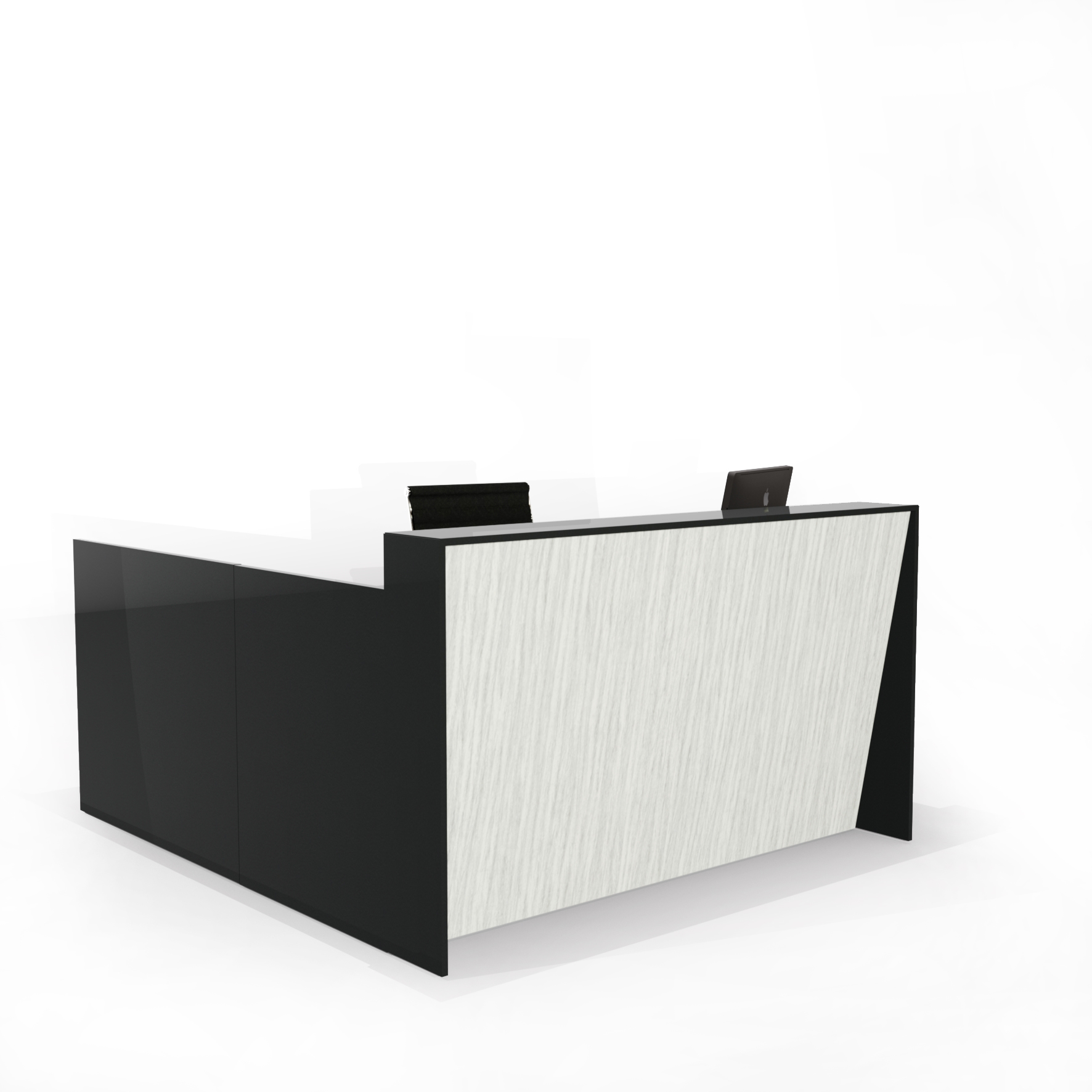 Angle Reception Desk