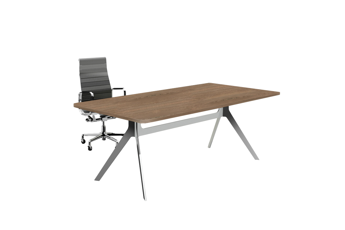 Delta Desk Natural Walnut