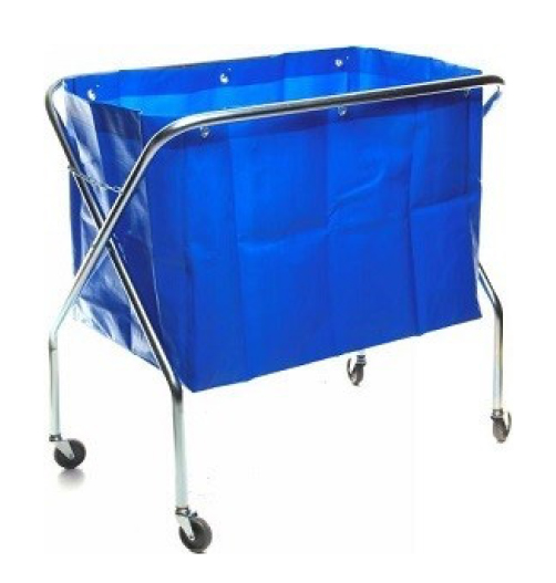 Folding bag trolley