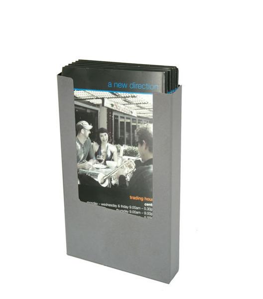 Steel DL Brochure Holder