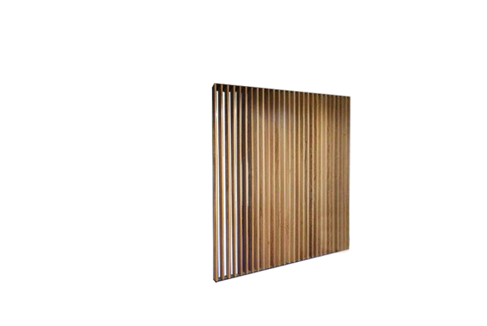 Straight Slat Wall