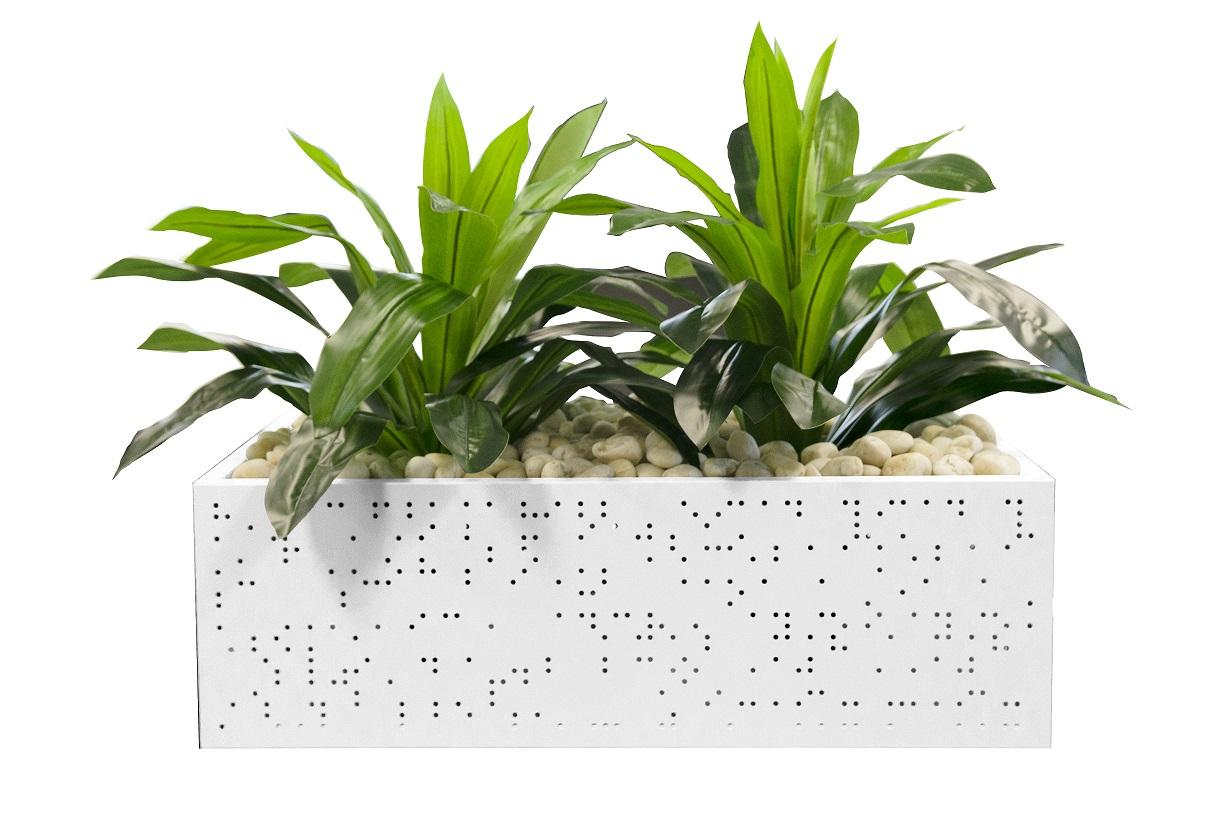 Tambour Door planter box
