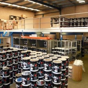 Need more storage space? Build upwards with our Mezzanine Floors!