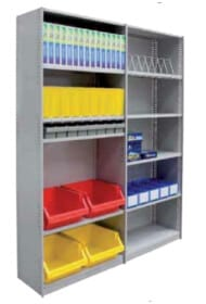 Update your warehouse with All Storage Systems variety of Rolled Edge Shelving.