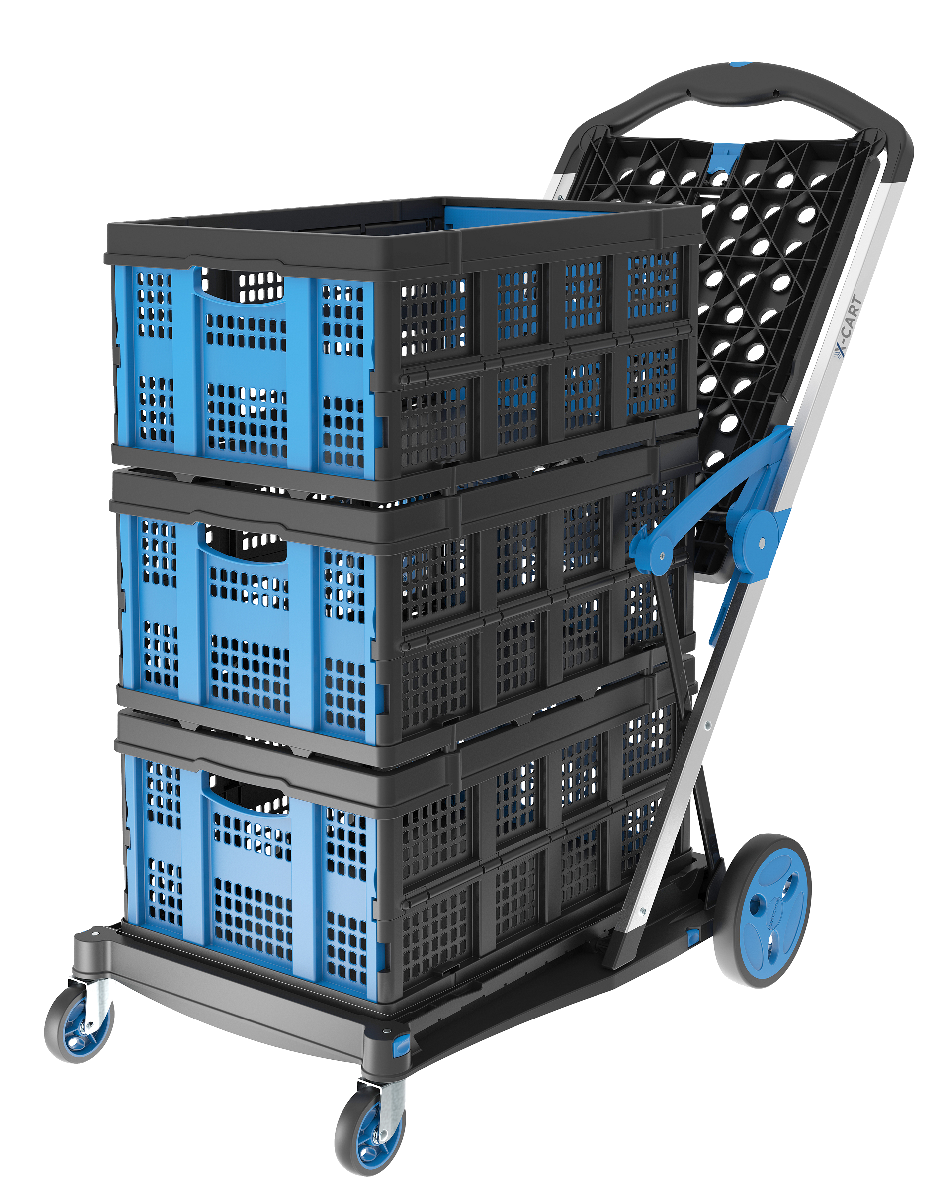 X-Cart With 3 Baskets (1) reduced