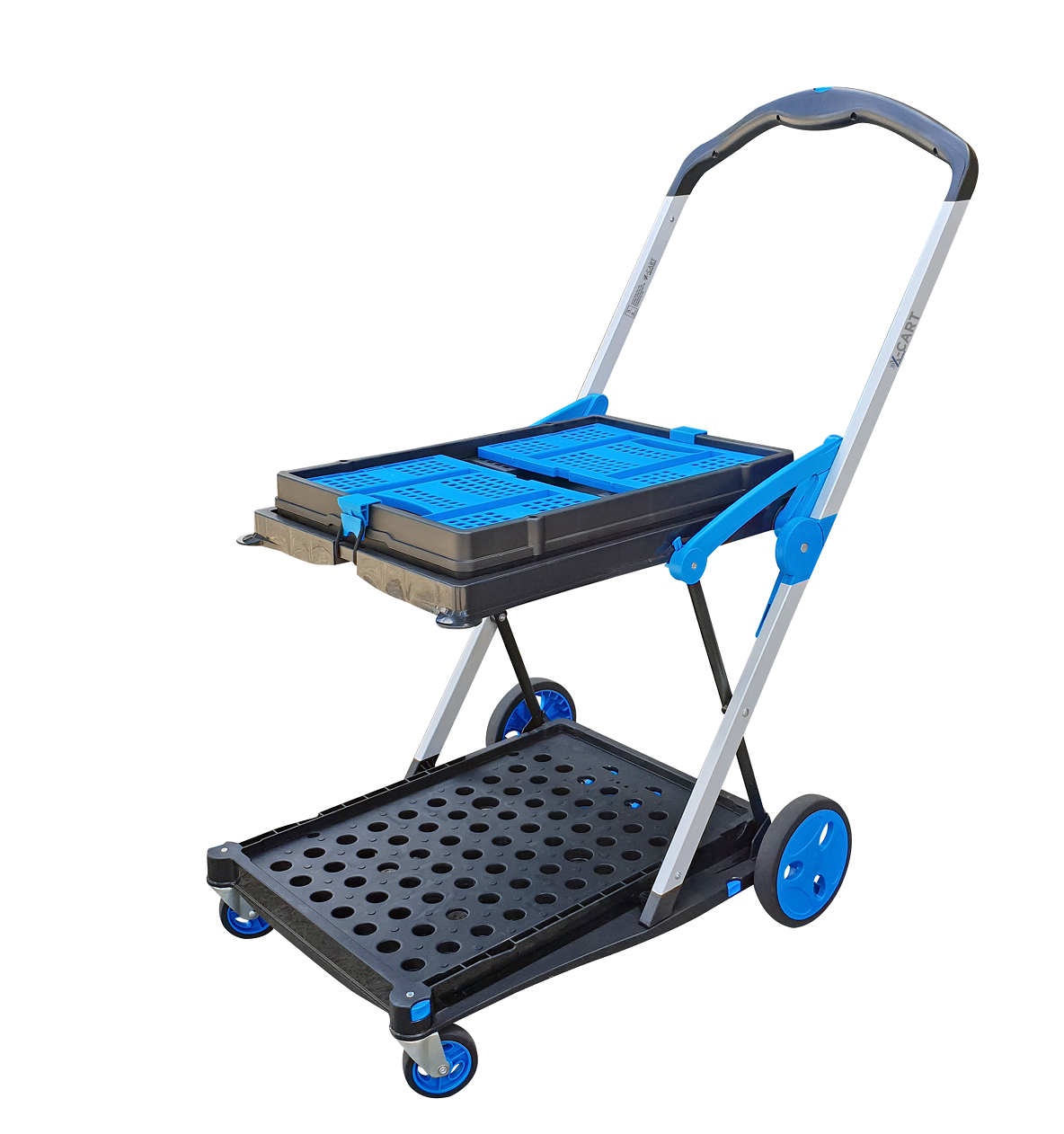 X-Cart With Basket Folded (1) reduced