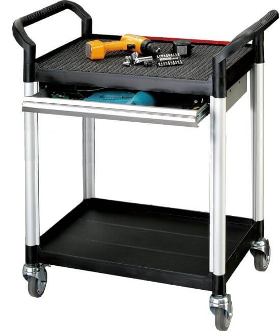 Are you tools always on the move? Try adopting a mobile tool trolley into your workshop so you can always keep an eye on them.