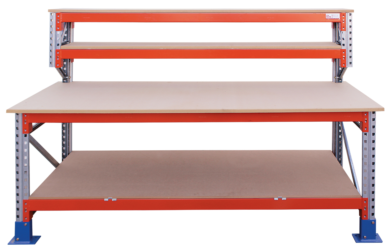 111005 Ultimate Heavy Duty Workbench with Shelves