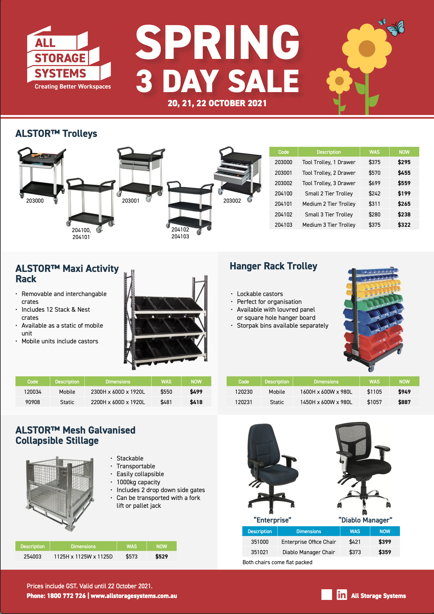 All Storage Systems_3 Day Sale Spring 2021_thumb