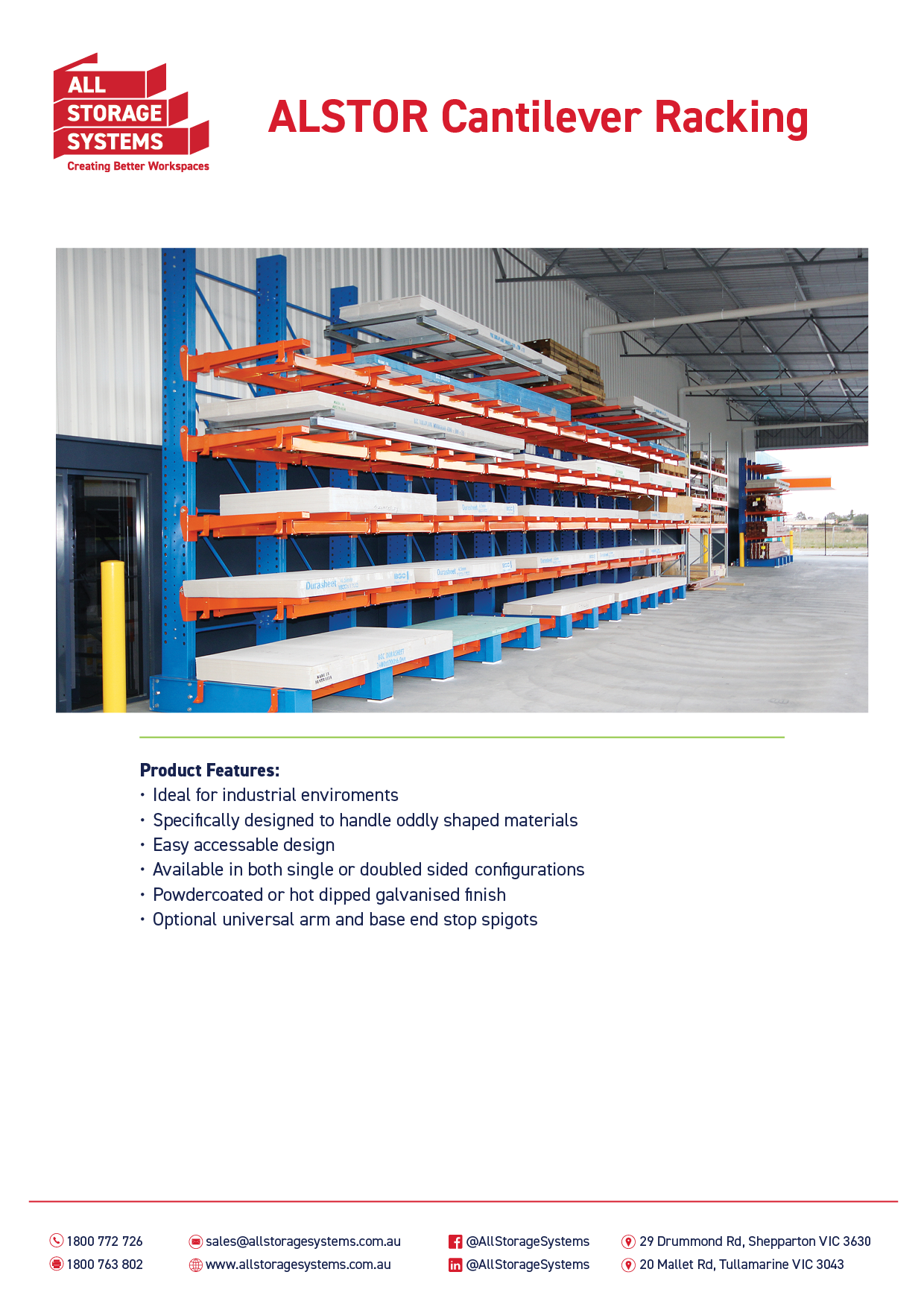 All Storage Systems_Specifications_Cantilever WORKING